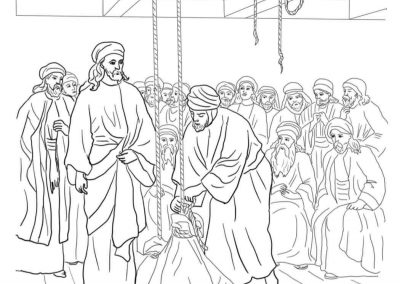 Jesus Forgives and Heals a Paralyzed Man 3