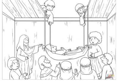 Jesus Forgives and Heals a Paralyzed Man 2