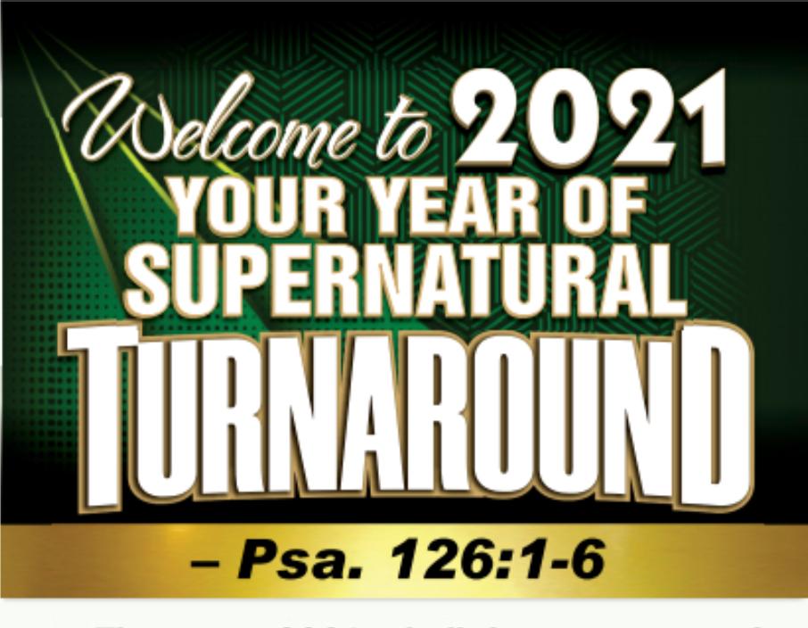 2021 Year Supernatural Turnaround